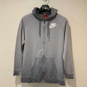 Nike full zip lightweight hoodie